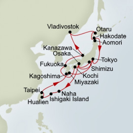 Japan Explorer and Russia Collector Holland America Line Cruise