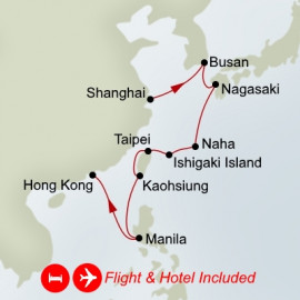 Fly Stay Far East Discovery Holland America Line Cruise