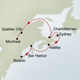 Canada and New England Discovery Holland America Line Cruise