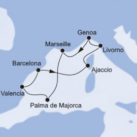 West Mediterranean Christmas and New Year MSC Cruises Cruise