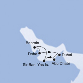 Dubai and Abu Dhabi Itinerary