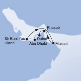 Dubai and Abu Dhabi MSC Cruises Cruise