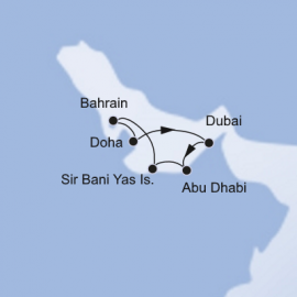 Arabian Peninsula MSC Cruises Cruise