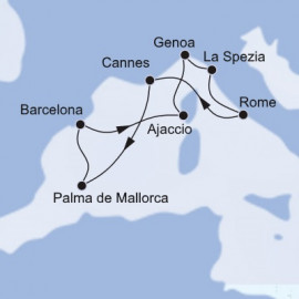 West Mediterranean MSC Cruises Cruise
