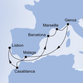 Morocco Spain and Portugal MSC Cruises Cruise