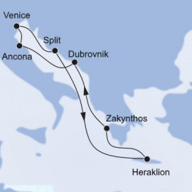 Greece and Croatia MSC Cruises Cruise