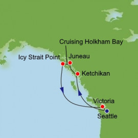 Alaska with Holkham Bay Itinerary