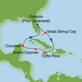 Christmas Western Caribbean Itinerary