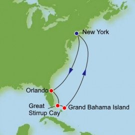 Bahamas and Florida Itinerary