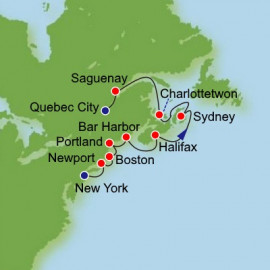 Canada and New England Norwegian Cruise Line Cruise