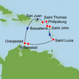 Southern Caribbean Norwegian Cruise Line Cruise