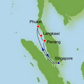 Phuket Langkawi and Penang Norwegian Cruise Line Cruise