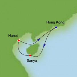 Southeast Asia from Hong Kong Itinerary