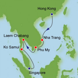 Fly Stay Holiday - Hong Kong to Singapore Norwegian Cruise Line Cruise