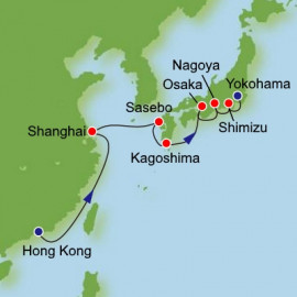 East Asia Itinerary