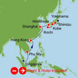 Fly Stay Ultimate Asia Itinerary