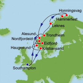 Norway and the Arctic Itinerary