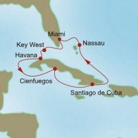 Cuba Charms Itinerary