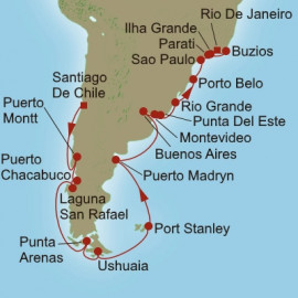 South America Sojourn  Oceania Cruises Cruise