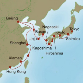 Memorable Far East Oceania Cruises Cruise