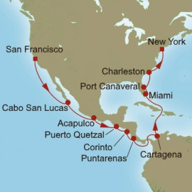 Panama Canal Connection Itinerary