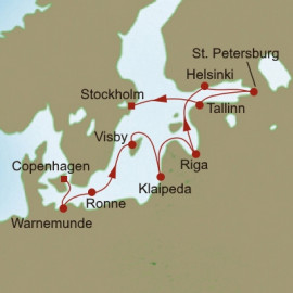 Route of Royalty Oceania Cruises Cruise