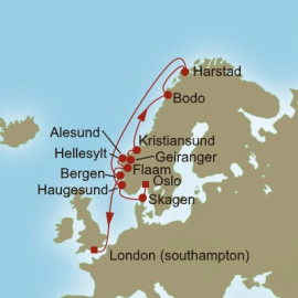 Northern Frontiers Oceania Cruises Cruise