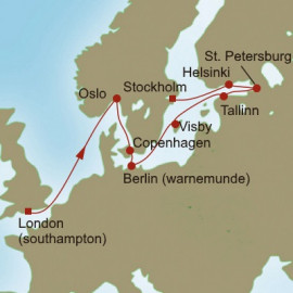 Baltic Bliss Itinerary