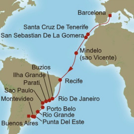 Atlantic Tapestry Itinerary