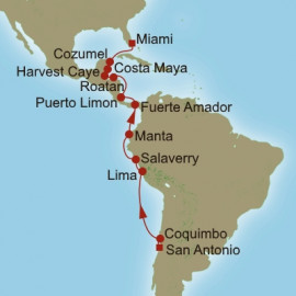 Sunny Islands and Andes Oceania Cruises Cruise