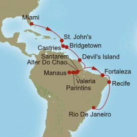 Edens and The Amazon Oceania Cruises Cruise