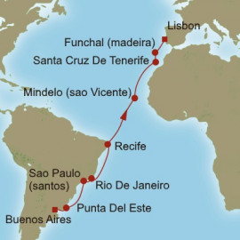 Essence of the Atlantic Oceania Cruises Cruise