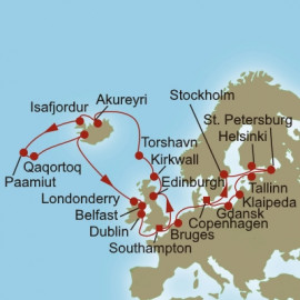 Nordic Expedition Itinerary