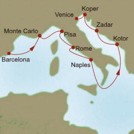 Coastlines to Canals Itinerary