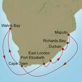 Accent on Africa Itinerary