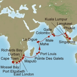 Indian Ocean Odyssey Oceania Cruises Cruise