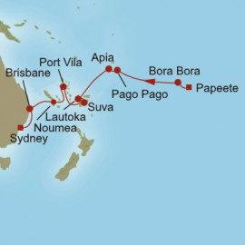 Sublime South Pacific Oceania Cruises Cruise