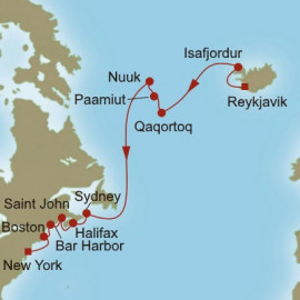 North Atlantic Quest Oceania Cruises Cruise