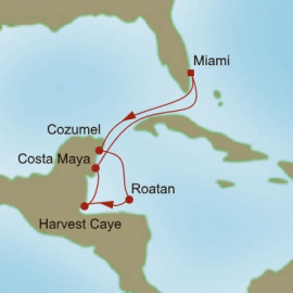 Tropical Retreats Oceania Cruises Cruise
