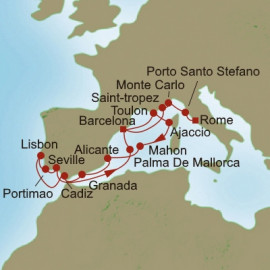 Medieval Meandering Oceania Cruises Cruise