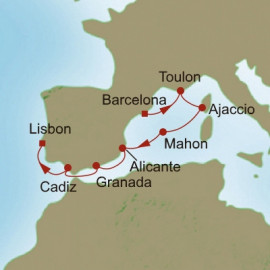 Southern Europe Sojourn Oceania Cruises Cruise