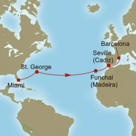 Crossing to Iberia Itinerary