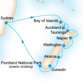Kiwi Adventure Itinerary