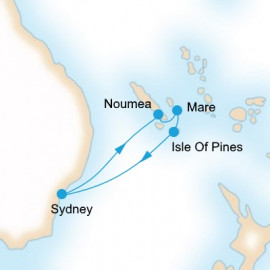 A Taste of New Caledonia P&O Cruises Cruise