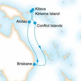 New Guinea Island Encounter P&O Cruises Cruise