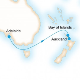 Adelaide to Auckland Itinerary