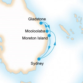 Southern Barrier Reef Discovery P&O Cruises Cruise