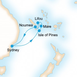 Explore the Loyalty Islands P&O Cruises Cruise