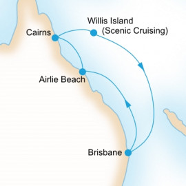 Barrier Reef Discovery P&O Cruises Cruise