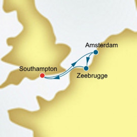 Round trip from Southampton New Year P&O Cruises UK Cruise